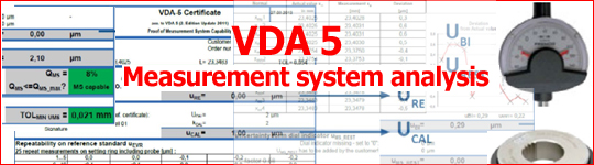 VDA 5 Measuring System Analisis